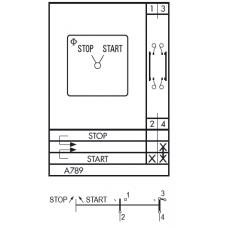 Переключатель CA20-A789-600 FT3