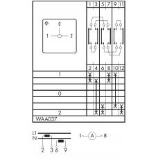 Переключатель CA25-WAA037 E