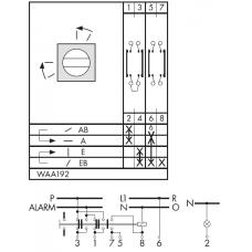 Переключатель CA25-WAA192 E
