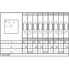 Переключатель A25-WAA489-600 E +F076