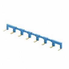 02218, 8-полюсный шинный соединитель синий; упаковка 10 шт.