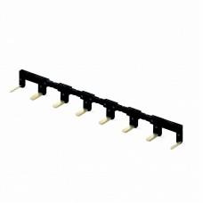022180, 8-полюсный шинный соединитель черный