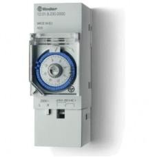 120182300000, Реле времени механическое суточное; монтаж на рейку 35мм; 1СO 16A; питание 230В АC; ширина 35.8мм; степень защиты IP20; упаковка 5 шт.