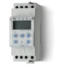 122100240000, Реле времени цифровое недельное; монтаж на рейку 35мм; 1СO 16A; питание 24В АC/DC; ширина 35.8мм; степень защиты IP20; упаковка 5 шт.