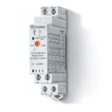 151082300010, Модульный ведущий электронный диммер (Master); 4 функции; сигнал 0-10В; подключение до 32 ведомых диммеров (Slave); управление до 15 кнопок с подсветкой; питание 230В АC (50Гц); степень защиты IP20; упаковка 5 шт.