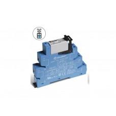 Интерфейсный модуль, электромеханическое реле; 1CO 16A; контакты AgNi; питание 24В AC-DC; категория защиты IP20; безвинтовые клеммы (пружинный зажим); упаковка 10 шт.