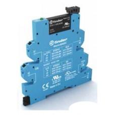 390001259024, Интерфейсный модуль, твердотельное реле, серия MasterBASIC; выход 6A (24В DC); питание 125В AC/DC; категория защиты IP20; безвинтовые клеммы Push-in; упаковка 10 шт.