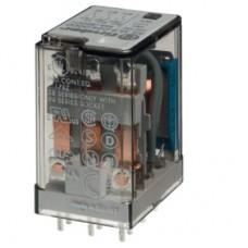 551381200000, Миниатюрное универсальное электромеханическое реле; монтаж на печатную плату; 3CO 10A; контакты AgNi; катушка 120В АC; степень защиты RTI; опции: нет; упаковка 10 шт.