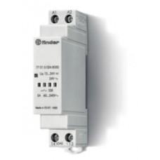 770100248050, Модульное твердотельное реле; выход 5А (60…240В АС); питание 12…24В DC, 24В AC; Функция 'Включ.при пересечении нуля'; ширина 17.5мм; степень защиты IP20; упаковка 5 шт.