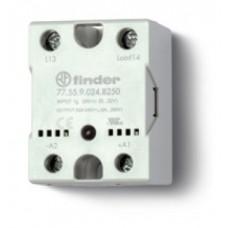 Твердотельное реле; выход 50А (24…240В АС); питание 230В AC; Функция 'Включ.при пересечении нуля'; монтаж на панель; степень защиты IP20; упаковка 10 шт.