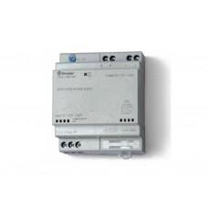 785012301203, Импульсный источник питания; вход 110...240В AC; выход 12В DC, 50Вт; модульный, ширина 70мм; предохранитель входой цепи; настройка выходного напряжения; степень защиты IP20; упаковка 5 шт.