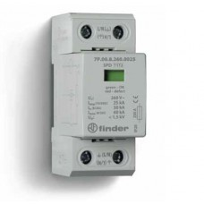 Устройство защиты от импульсных перенапряжений УЗИП тип 1+2 (1 варистор/искровый разрядник); модульный, ширина 36мм; степень защиты IP20; упаковка 1 шт.