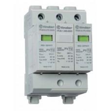 7P2690000015, Устройство защиты от импульсных перенапряжений УЗИП тип 2 (2 варистора + 1 искровый разрядник) для фотогальванических систем 1000В DC; модульный, без доп.контакта; степень защиты IP20