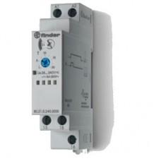 Модульный таймер 1-функциональный (DI); питание 24…240В АС-DC; 1CO 16A; ширина 17.5мм; регулировка времени 0.1с…24ч; степень защиты IP20; упаковка 5 шт.