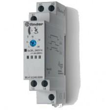 804102400000T, Модульный таймер 1-функциональный (ВЕ); питание 24…240В АС/DC; 1CO 16A; ширина 17.5мм; регулировка времени 0.1с…24ч; степень защиты IP20; версия для ЖД-транспорта; упаковка 5 шт.