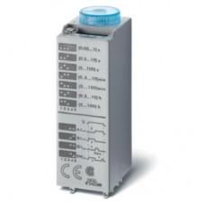 850200120000PAS, Миниатюрный мультифункциональный таймер (AI, DI, SW, GI); монтаж в розетку; питание 12В АС/DC; 2CO 10A; регулировка времени 0.05с…100ч; степень защиты IP40; в комплекте металлическая клипса 094.81; упаковка 1шт. ; упаковка 1 шт.