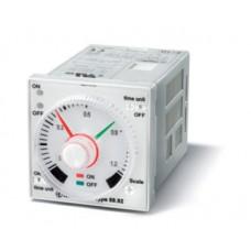 889202400001PAS, Таймер 1-функциональный (LI); монтаж на панель или в розетку; 8-штырьковый разъем; питание 12…240В АС/DC; 2CO 5A; регулировка времени 0.05с…100ч; степень защиты IP40; упаковка 1шт. ; упаковка 1 шт.