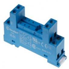 9565SMA, Розетка с винтовыми клеммами (с зажимной клетью) для реле 40.51, 40.52, 40.61, 44.52, 44.62; применяются модули 99.01; в комплекте металлическая клипса 095.71; версия: синий цвет; упаковка 10 шт.