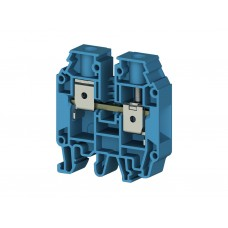 304241, Клеммник на DIN-рейку 16мм.кв. (синий); AVK16 RD   (упак 50 шт)