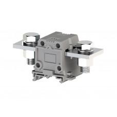 304310, Силовой клеммник на DIN-рейку 150 мм.кв., болт., (серый); AVK150 B (упак 4 шт)