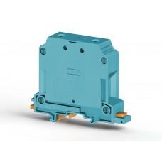 304331, Клеммник на DIN-рейку 50мм.кв., (синий); AVK50  (упак 25 шт)