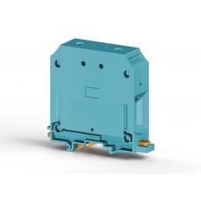 304341, Клеммник на DIN-рейку 95мм.кв., (синий); AVK95 (упак 6 шт)