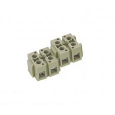421020, Приборные клеммы (наборные), 2х6 мм.кв.; PSK2-2 (упак 100 шт)