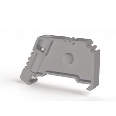 495049, Упор на DIN-рейку MR35, с винтом, (серый);  KD 3 (упак 100 шт)