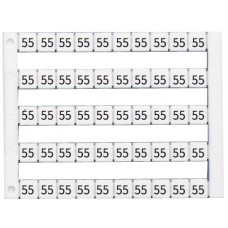 505098, Горизонтальная маркировка  (PE), DY5, 1пластина (50 штук), (упак 500 шт)