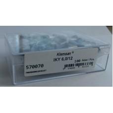570070, Наконечник изолированный IKY 6/12 (огнестойки) (упак 100 шт)