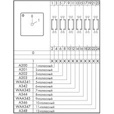 Переключатель C125 A201-620 E