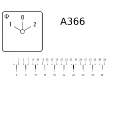 Переключатель A11-A366-600 E +G251